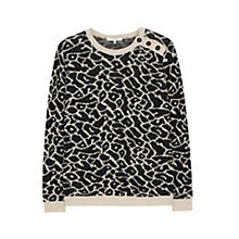 Buy Gerard Darel Litchi Jumper, Black Online at johnlewis.com