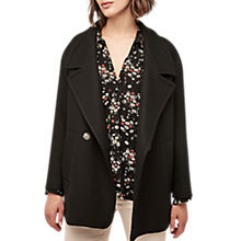 Buy Gerard Darel Gafori Coat, Black Online at johnlewis.com