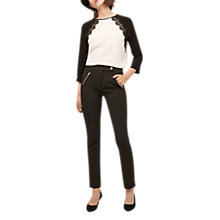 Buy Gerard Darel Serena Trousers, Black Online at johnlewis.com
