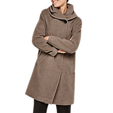 Buy Gerard Darel Gaia Wool Coat, Beige Online at johnlewis.com