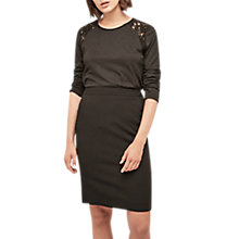 Buy Gerard Darel Antonia Pencil Skirt, Black Online at johnlewis.com