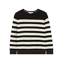 Buy Gerard Darel Luba Pullover Jumper, Black/Cream Online at johnlewis.com