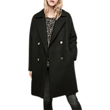 Buy Gerard Darel Gandy Coat, Black Online at johnlewis.com