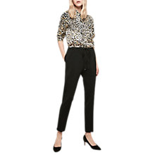 Buy Gerard Darel Sevigne Trousers, Black Online at johnlewis.com