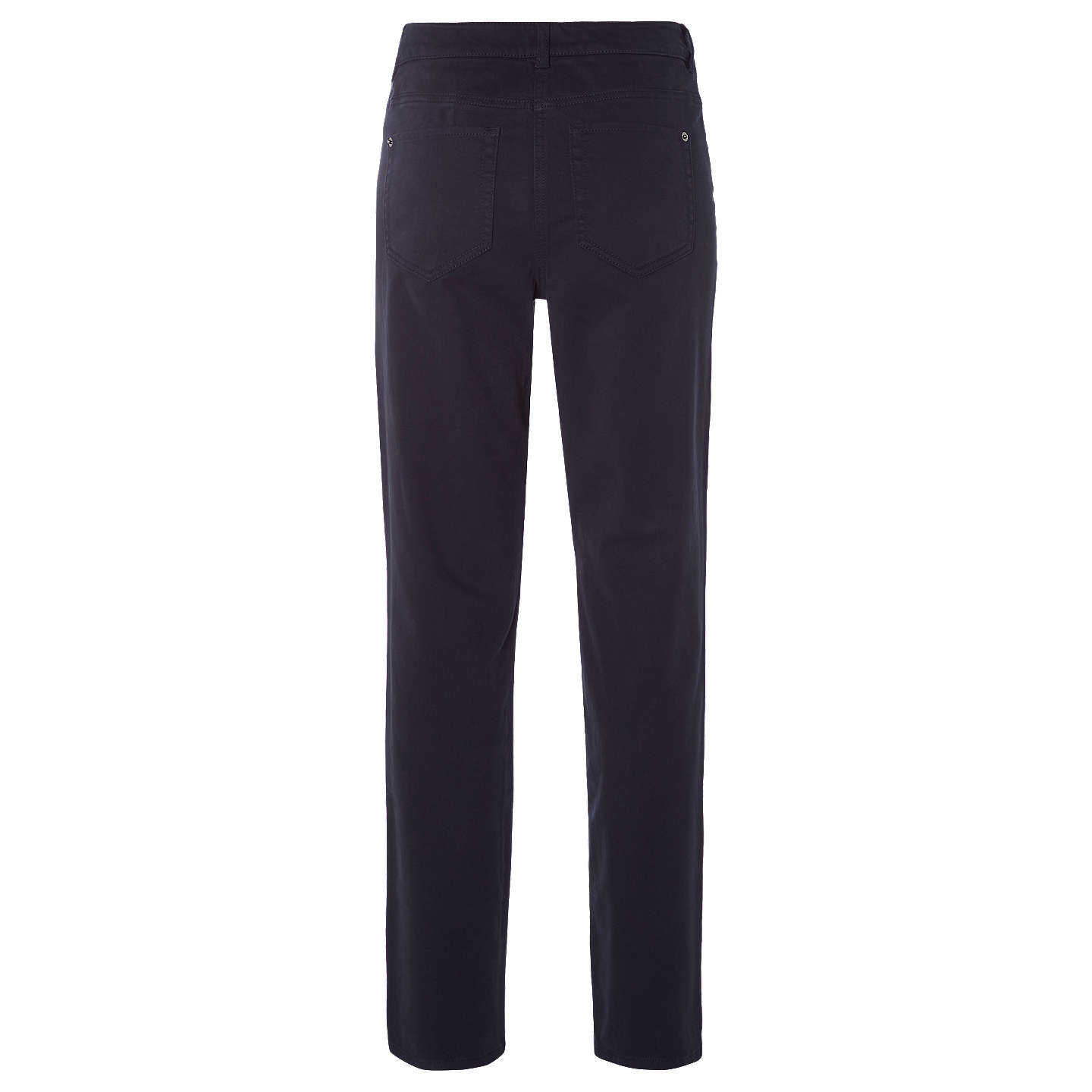 BuyWhite Stuff Oak Peached Slim Trousers, Navy, 10 Online at johnlewis.com
