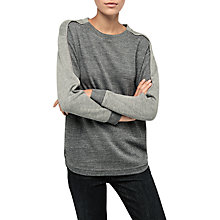 Buy Gerard Darel Ursino T-Shirt, Grey Online at johnlewis.com