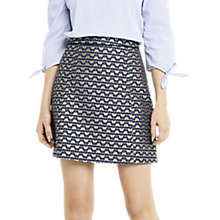 Buy Oasis Butterfly Print Jacquard Mini Skirt, Multi Online at johnlewis.com