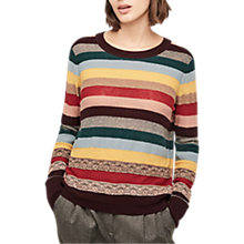 Buy Gerard Darel Louka Wool Cashmere Blend Jumper, Multicolour Online at johnlewis.com