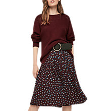 Buy Gerard Darel Ana Skirt, Red Online at johnlewis.com