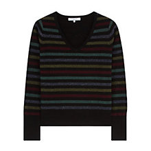 Buy Gerard Darel Lilo Wool Cashmere Blend Jumper, Multicolour Online at johnlewis.com