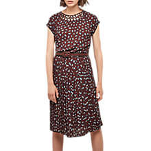 Buy Gerard Darel Naira Dress, Burgundy/Multi Online at johnlewis.com