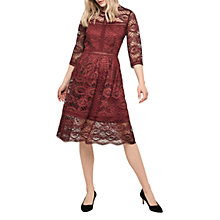 Buy Gerard Darel Nathalie Dress, Red Online at johnlewis.com