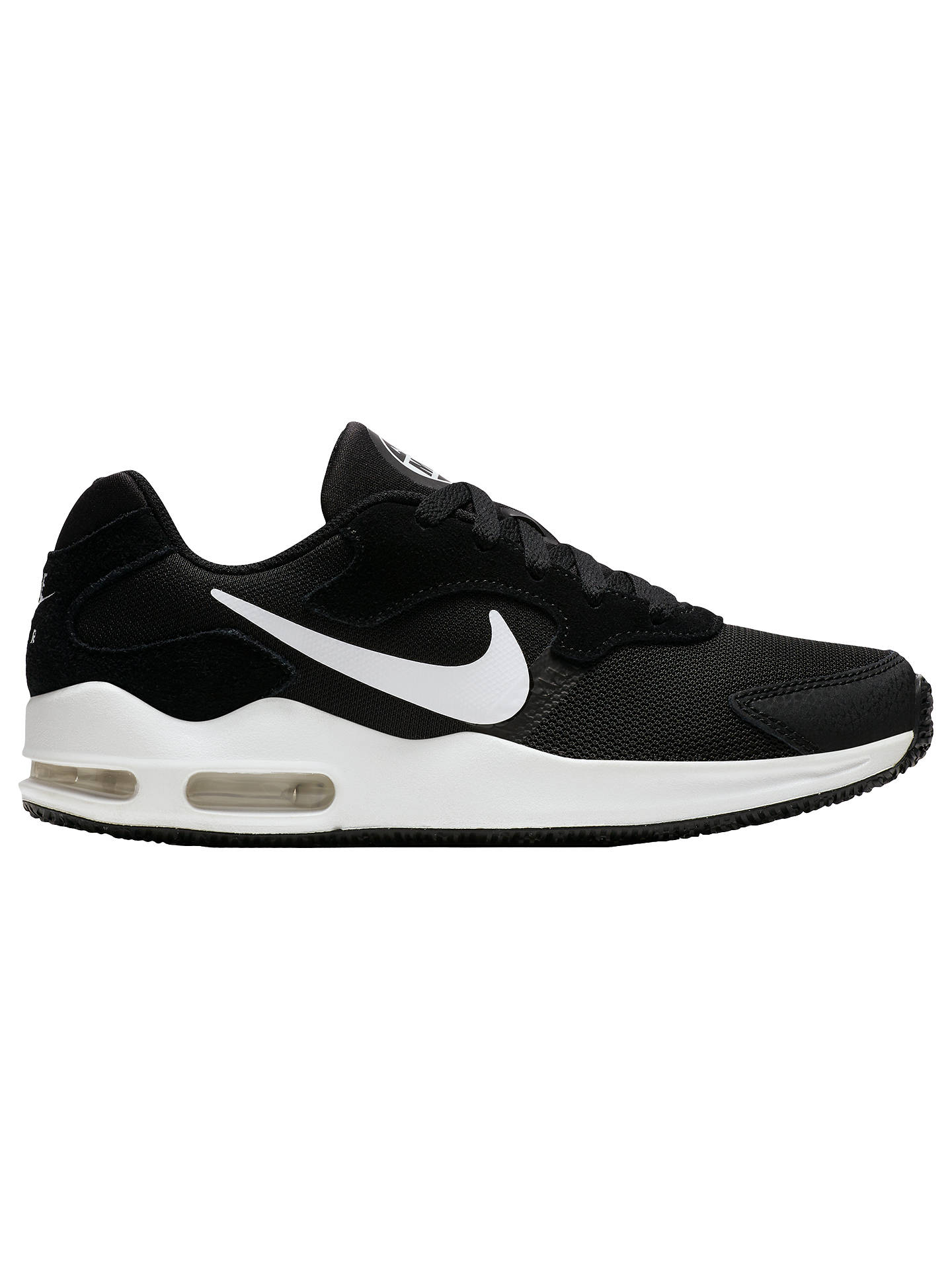 22803def8b Buy Nike Air Max Guile Women's Trainers, Black, 4 Online at johnlewis. ...