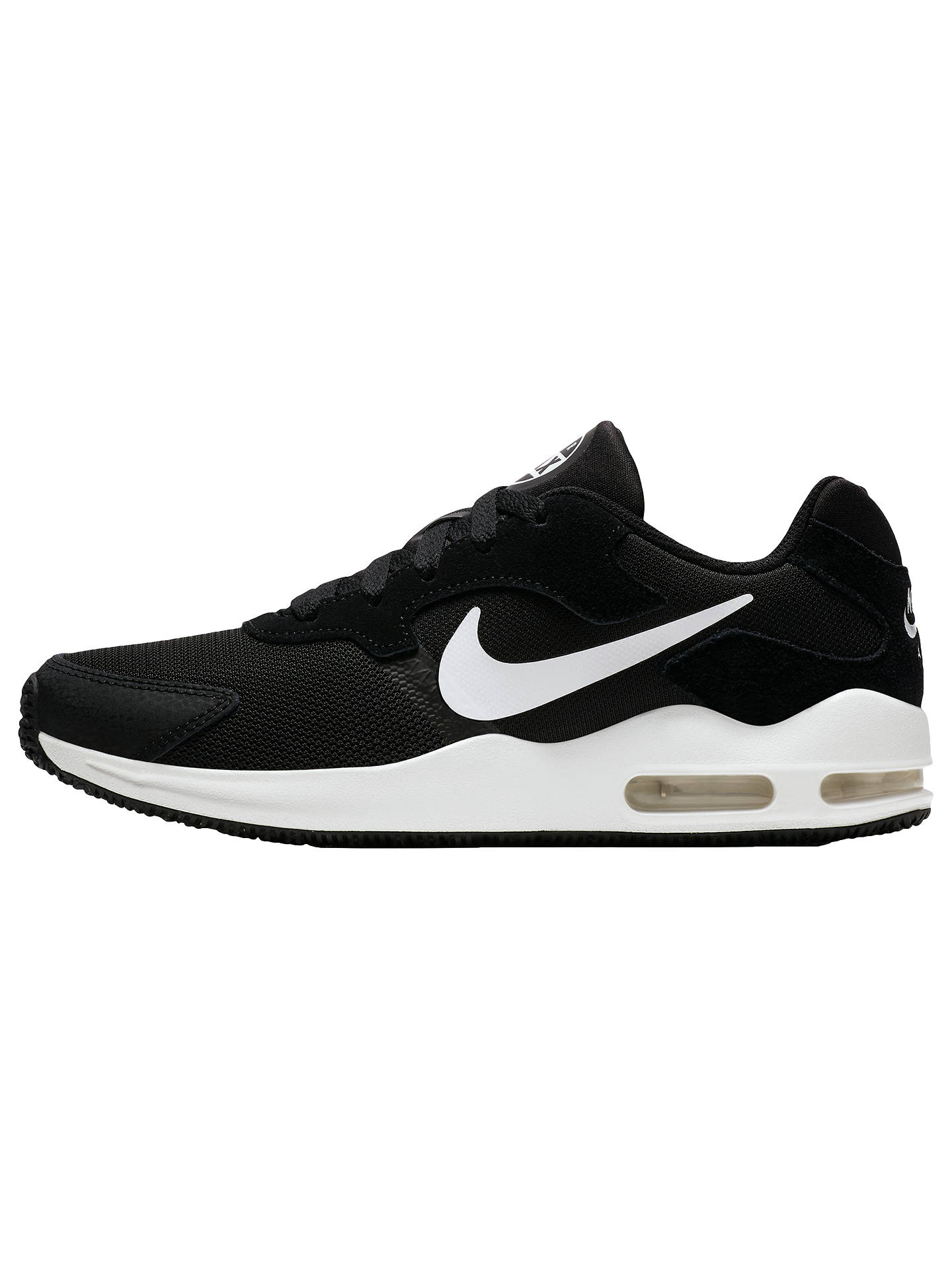9ff4750e53 ... Buy Nike Air Max Guile Women's Trainers, Black, 4 Online at johnlewis.  ...