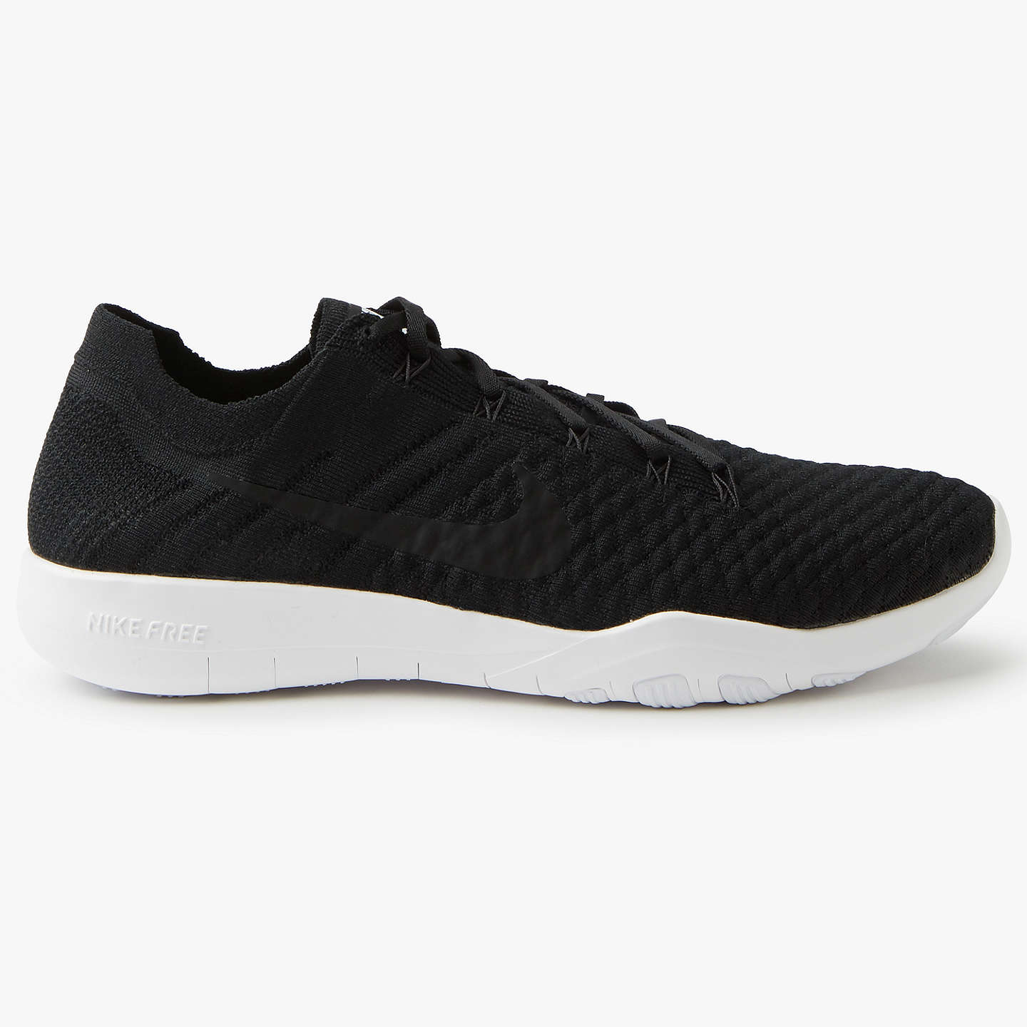 BuyNike Free TR Flyknit 2 Women's Training Shoes, Black/White, 4 Online at  ...