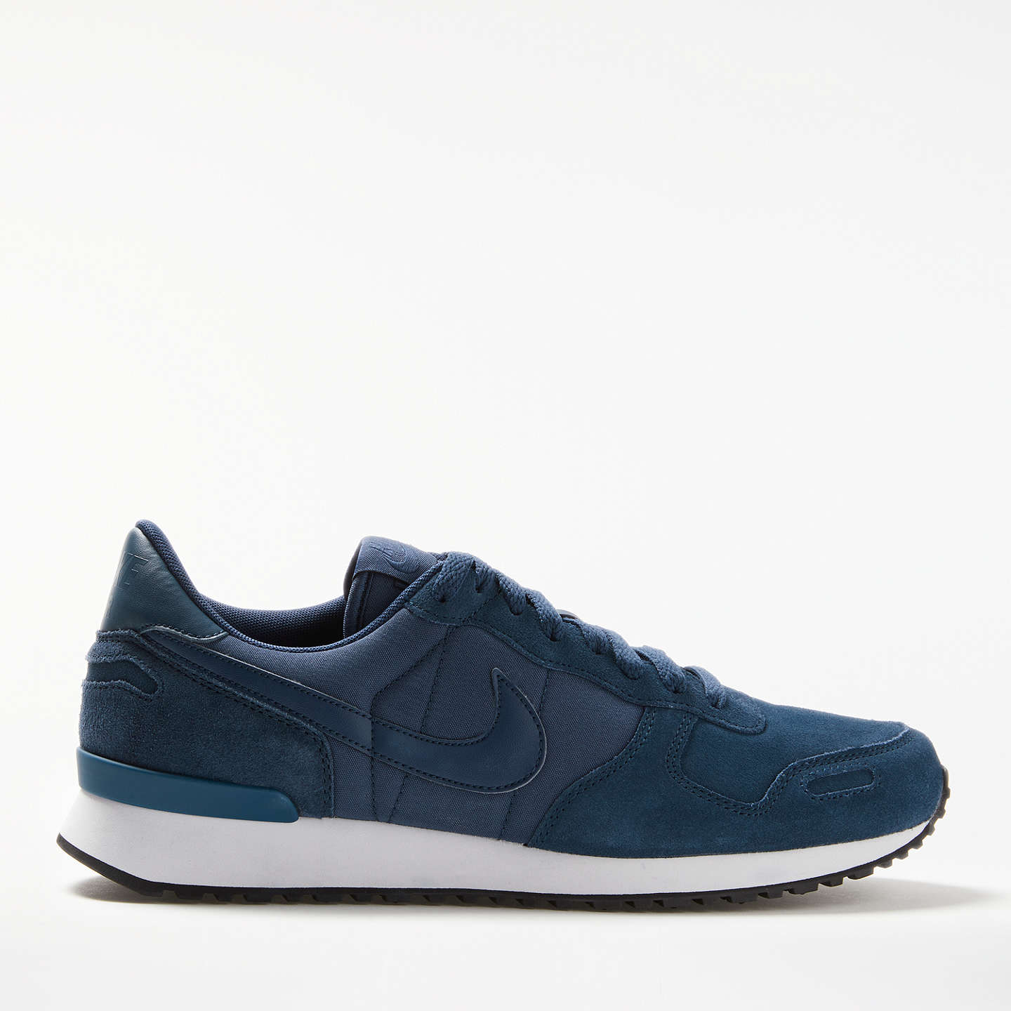 BuyNike Air Vortex Leather Men's Trainers, Navy/White, 7 Online at  johnlewis.
