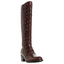 Buy Dune Pixie D Button Detail Knee High Boots Online at johnlewis.com