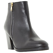 Buy Dune Powars Block Heeled Ankle Boots Online at johnlewis.com