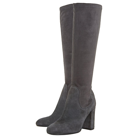 Buy Dune Serein Block Heeled Knee High Boots Online at johnlewis.com