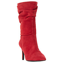 Buy Dune Reenie Pointed Toe Ruched Calf Boots Online at johnlewis.com