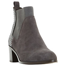 Buy Dune Oprentice Block Heeled Ankle Chelsea Boots Online at johnlewis.com