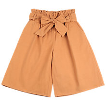 Buy Outside the Lines Bow Detail Culottes, Sahara Online at johnlewis.com