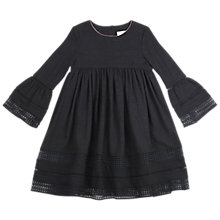 Buy Outside the Lines Girls' Lace Dress, Black Online at johnlewis.com