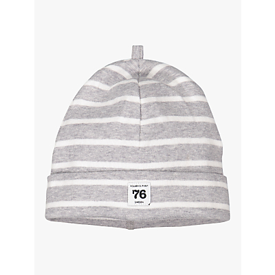 Image of Polarn O. Pyret Baby Stripe Beanie Hat