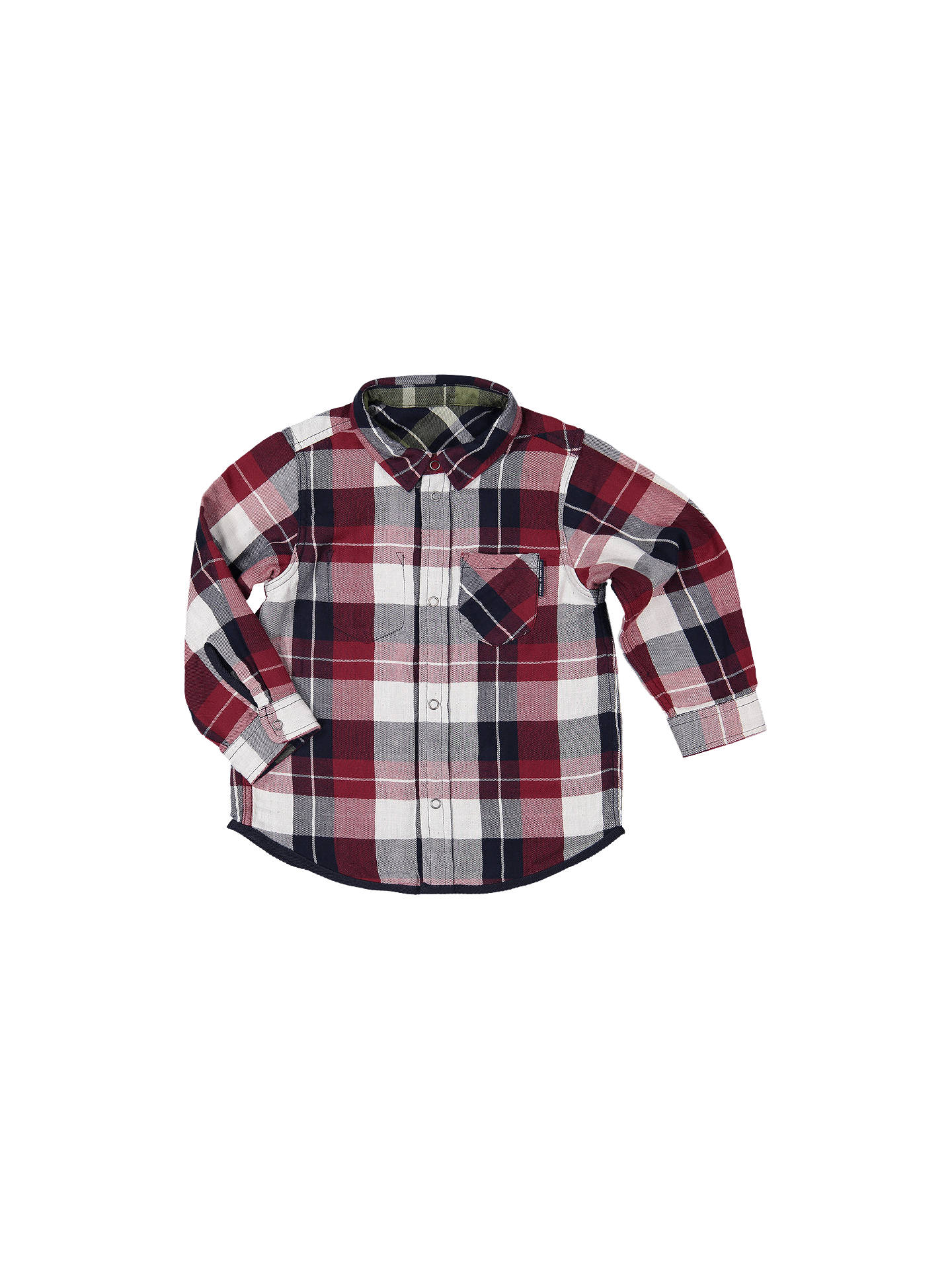 Baby Long Sleeve Check Shirts Plaid Blouse Casual Tops Cotton Outfits 6-9 Months