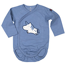 Buy Polarn O. Pyret Baby Unicorn Bodysuit, Blue Online at johnlewis.com