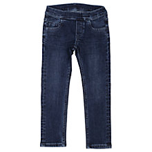 Buy Polarn O. Pyret Children's Denim Jeggings, Blue Denim Online at johnlewis.com