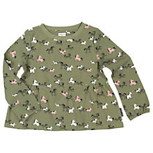 Buy Polarn O. Pyret Children's Horse Top, Green Online at johnlewis.com