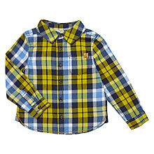 Buy John Lewis Baby Herringbone Check Shirt, Multi Online at johnlewis.com