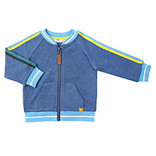 Buy John Lewis Baby Bomber Jacket, Navy Online at johnlewis.com