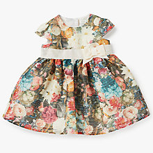 Buy John Lewis Baby Floral Dress, Multi Online at johnlewis.com