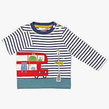 Buy John Lewis Baby Monster Bus T-Shirt, Multi Online at johnlewis.com