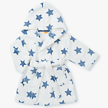 Buy John Lewis Baby Fleece Dressing Gown, Cream Online at johnlewis.com