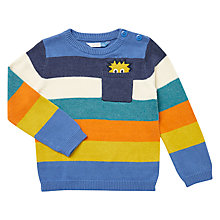 Buy John Lewis Baby Peeking Monster Jumper, Multi Online at johnlewis.com