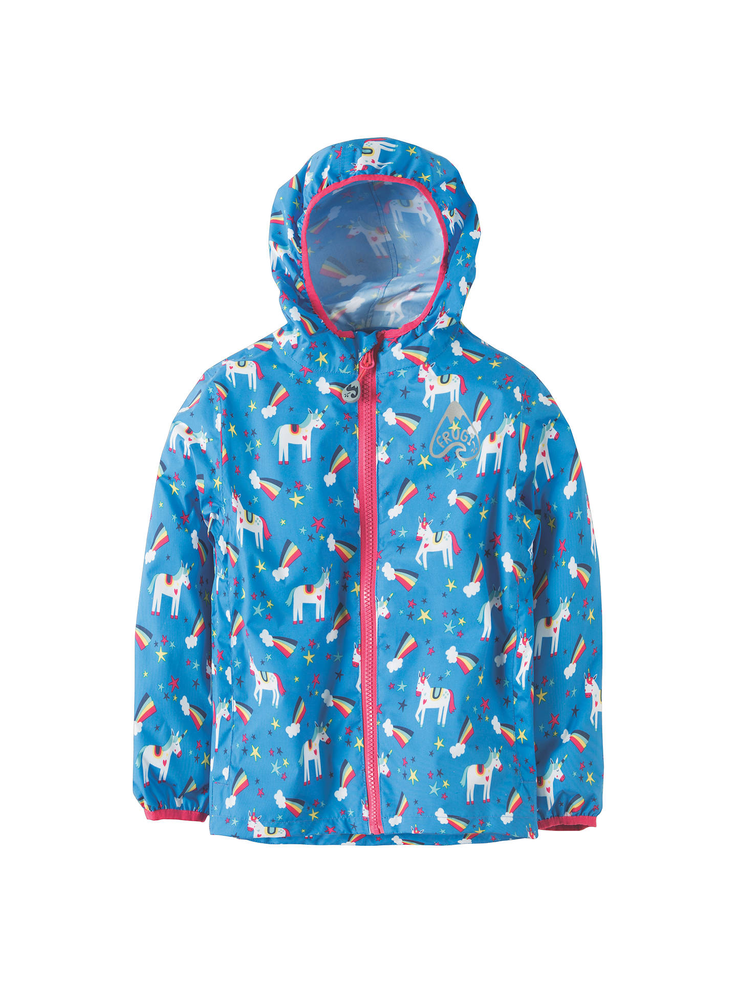 60456465c245 Frugi Organic Children s Puddle Buster Unicorn Coat