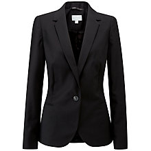 Buy Pure Collection Tailored Blazer, Black Online at johnlewis.com