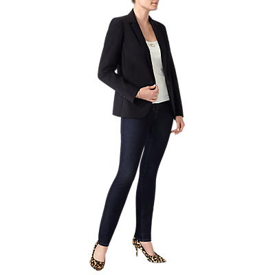 Image of Pure Collection Tailored Blazer, Black
