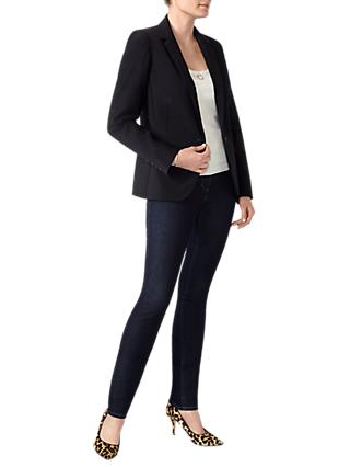 Pure Collection Tailored Blazer, Black