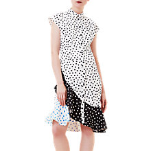Buy Finery Acton Short Sleeve Shirt Dress, Polka Dot Online at johnlewis.com