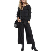Buy hush Ruffle Jumper, Charcoal Marl Online at johnlewis.com