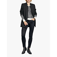 Buy hush Shelley Blazer, Black Online at johnlewis.com