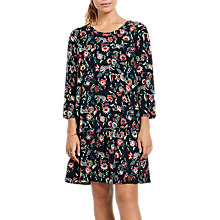 Buy hush Drew Flower Leopard Dress, Multi Online at johnlewis.com