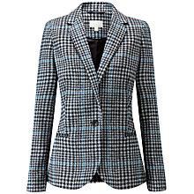 Buy Pure Collection Check Tailored Blazer Online at johnlewis.com