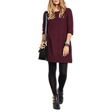 Buy hush Felix Dress, Burgundy Marl Online at johnlewis.com