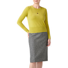 Buy Pure Collection Cropped Cashmere Sweater Online at johnlewis.com