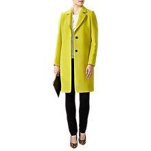 Buy Pure Collection Wool Single Breasted Coat Online at johnlewis.com